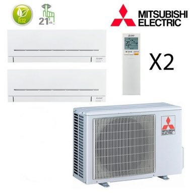 Mitsubishi Electric 2×1 | Inverter Frio | Bomba de calor